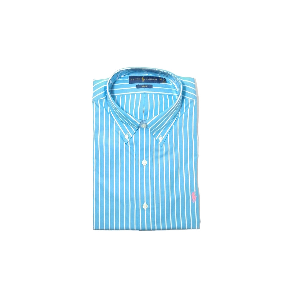 Ralph Lauren Blue Men's Striped Shirt