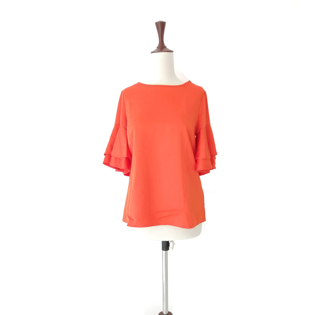 Dorothy Perkins Orange Satin Top