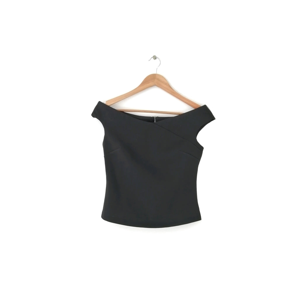 Dorothy Perkins Black Off-Shoulder Top