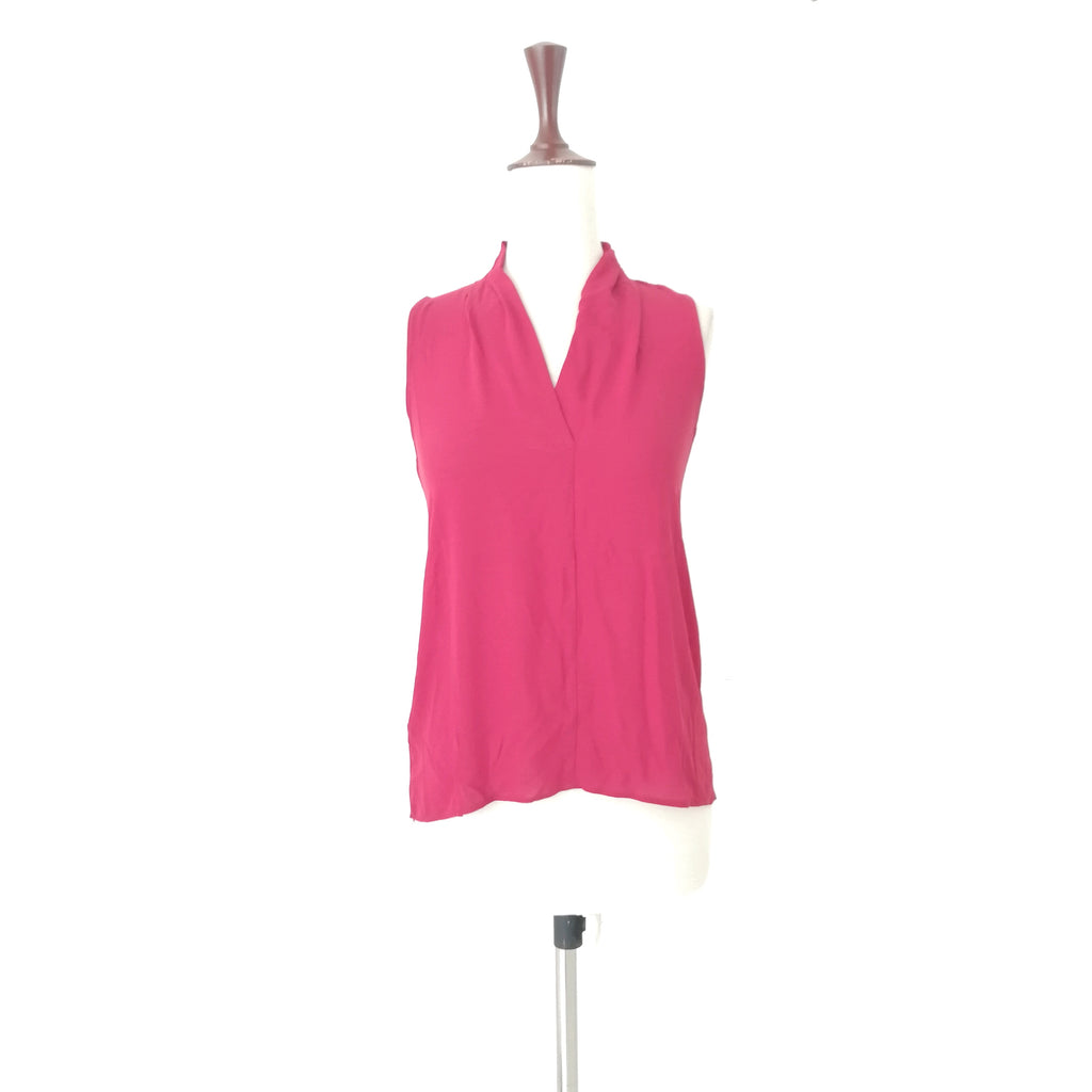 NEXT Red-Maroon Sleeveless Top | Like New |