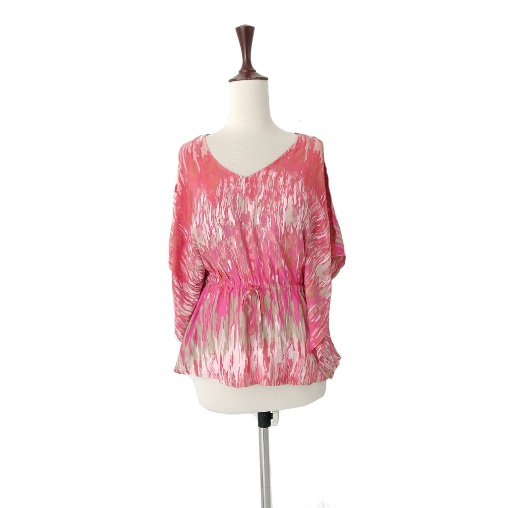 Express Pink Kaftan Top | Like New |