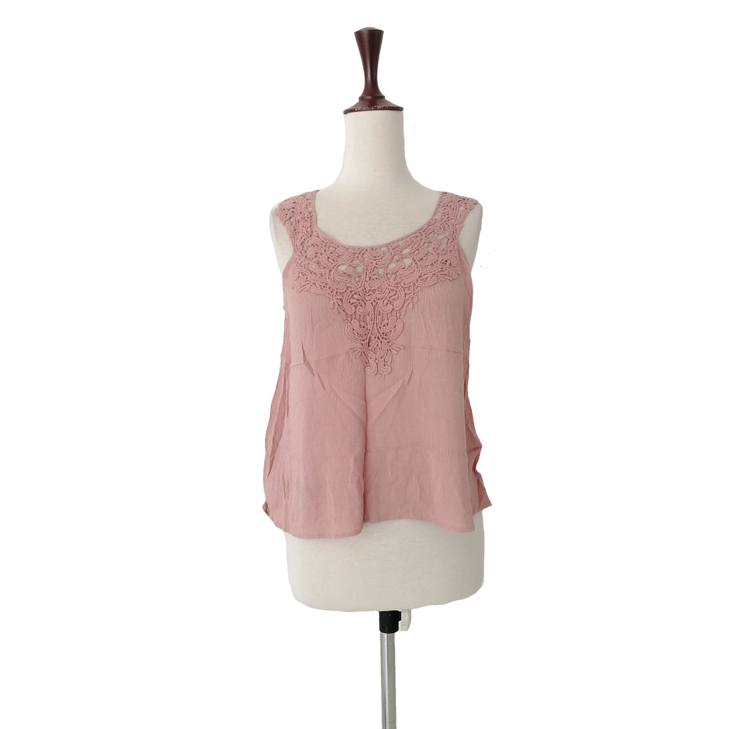 Forever 21 Blush Pink Cotton Top | Like New |