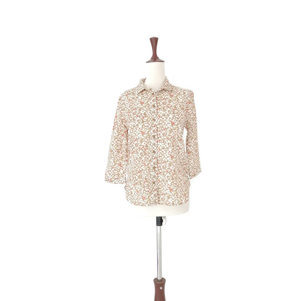 Marks & Spencer Leopard Print Cotton shirt