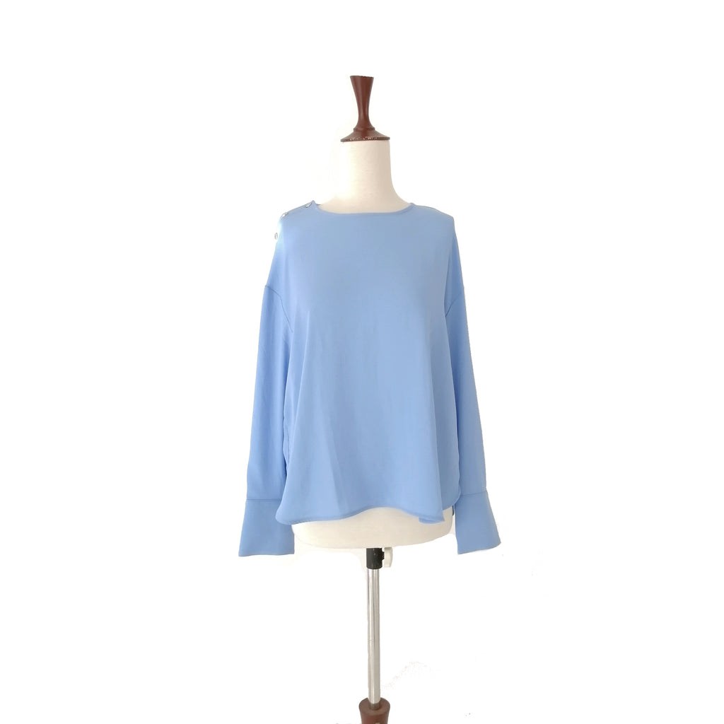 Mango Light Blue Top