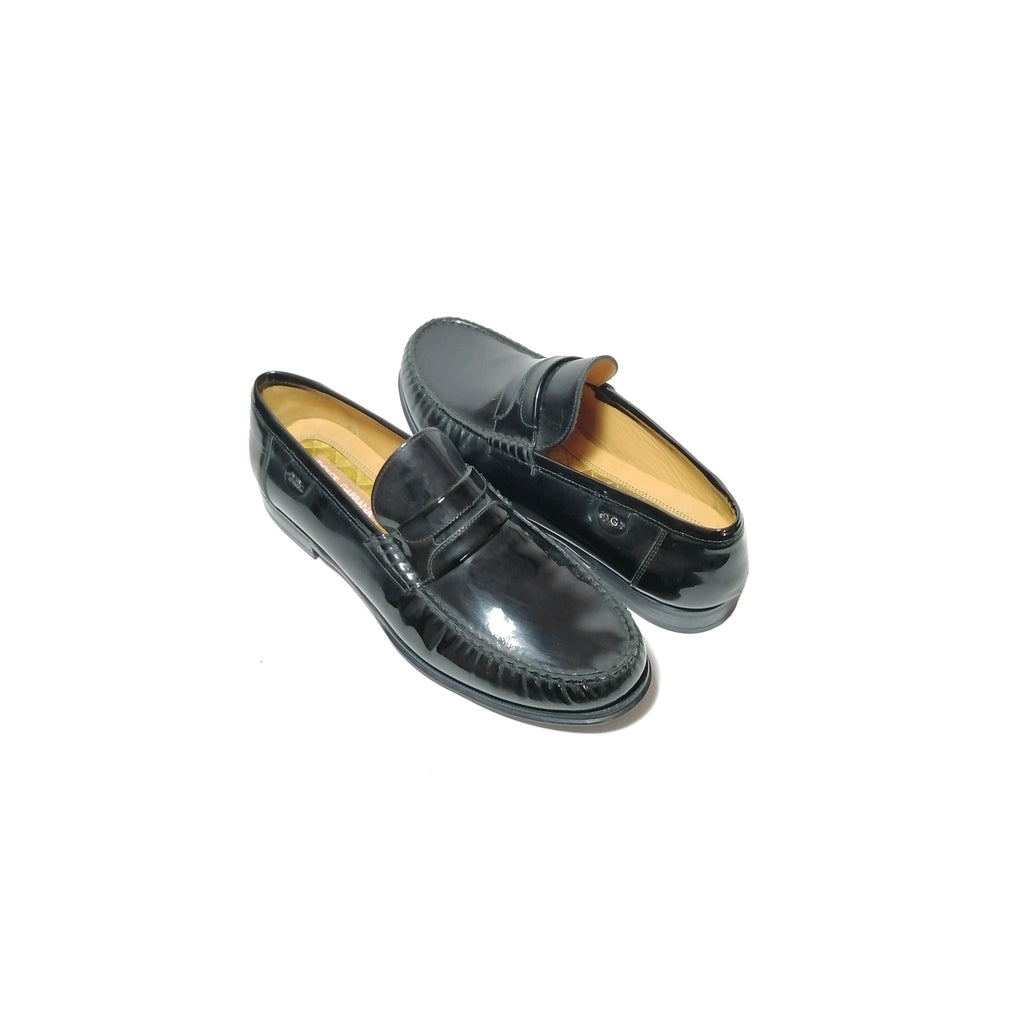 Dolce & Gabbana Men's Black Patent Leather Loafers