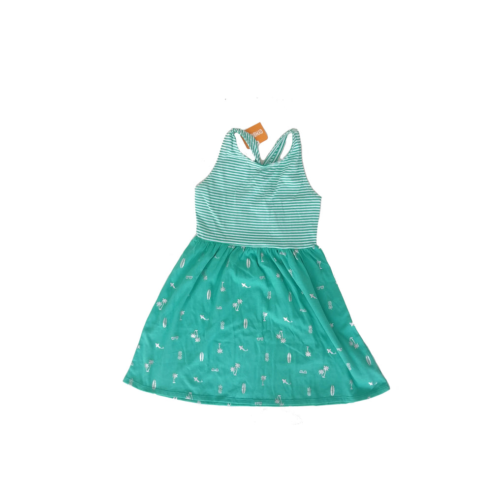 Gymboree Green Dress (7 - 8 years)