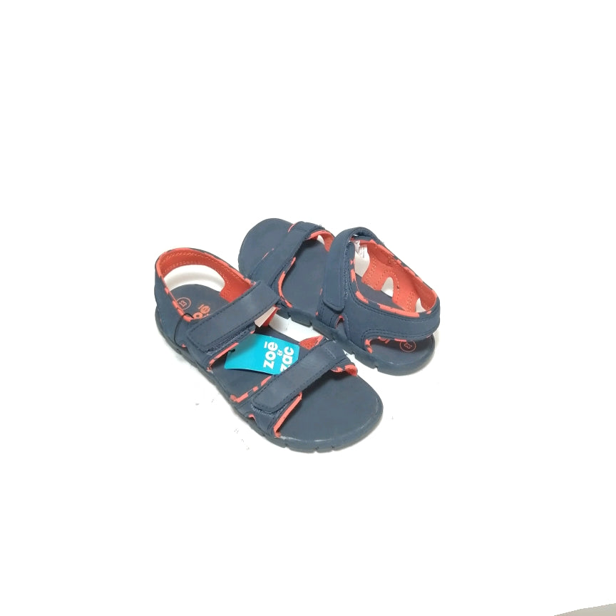 Zoe & Zac Blue & Orange Sandals (size 13)