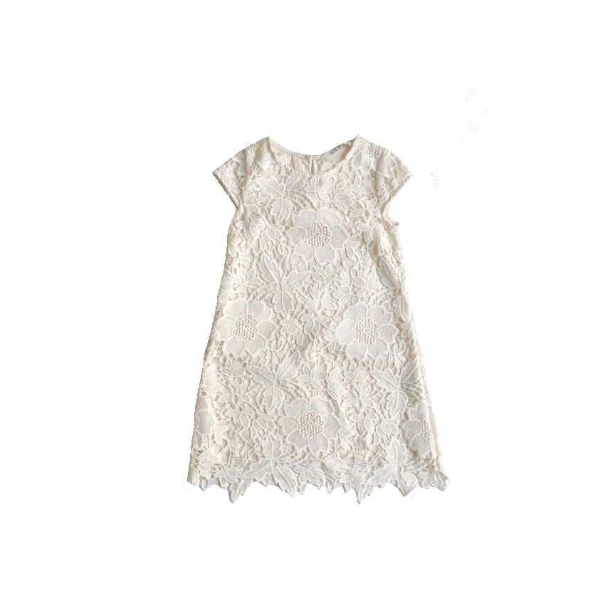 H&M White Lace Dress