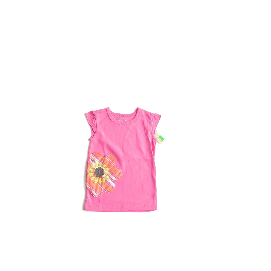 Carter's Pink Flower Sleeveless Shirt