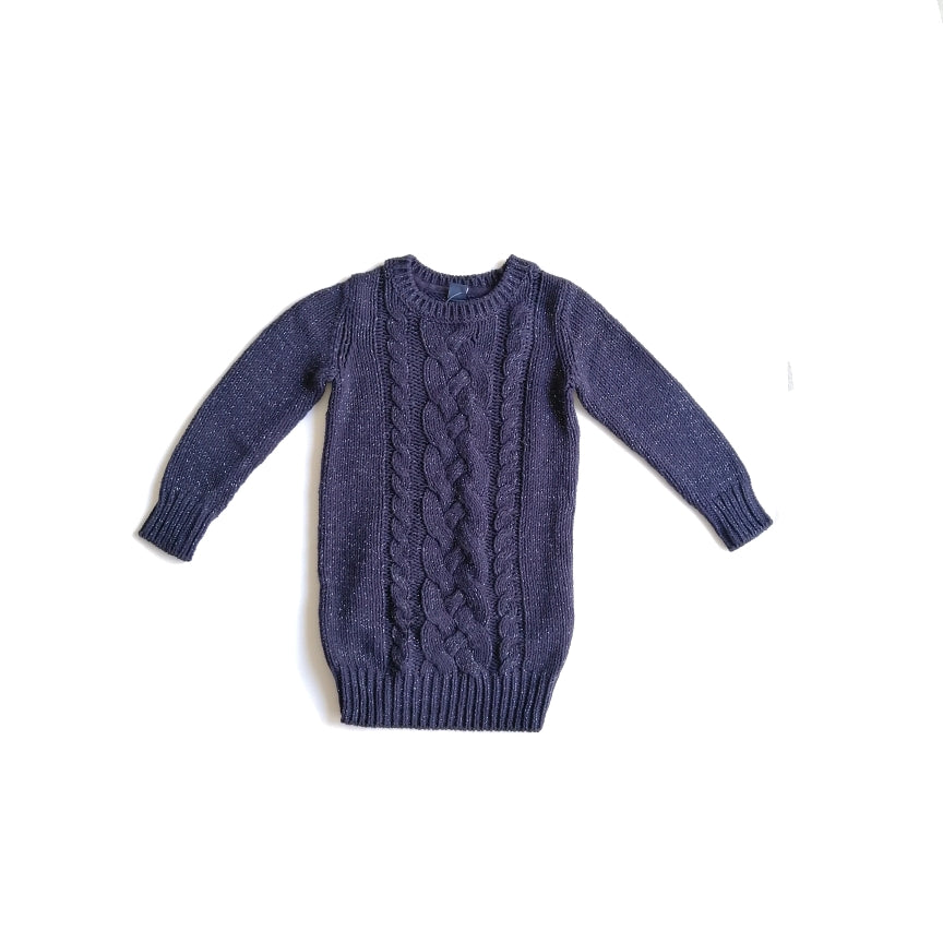Baby Gap Blue Glitter Sweater