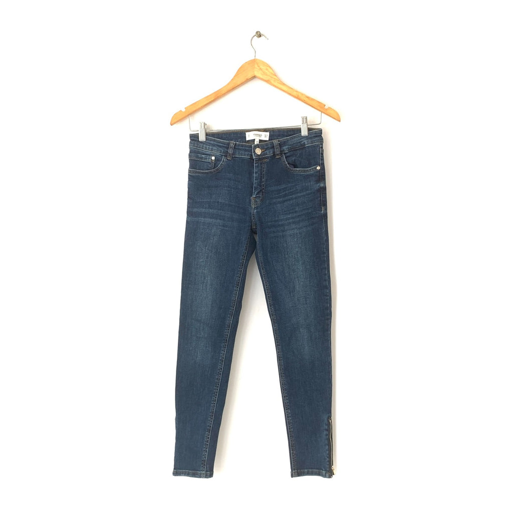 Mango Blue Denim Skinny Jeans | Gently Used |