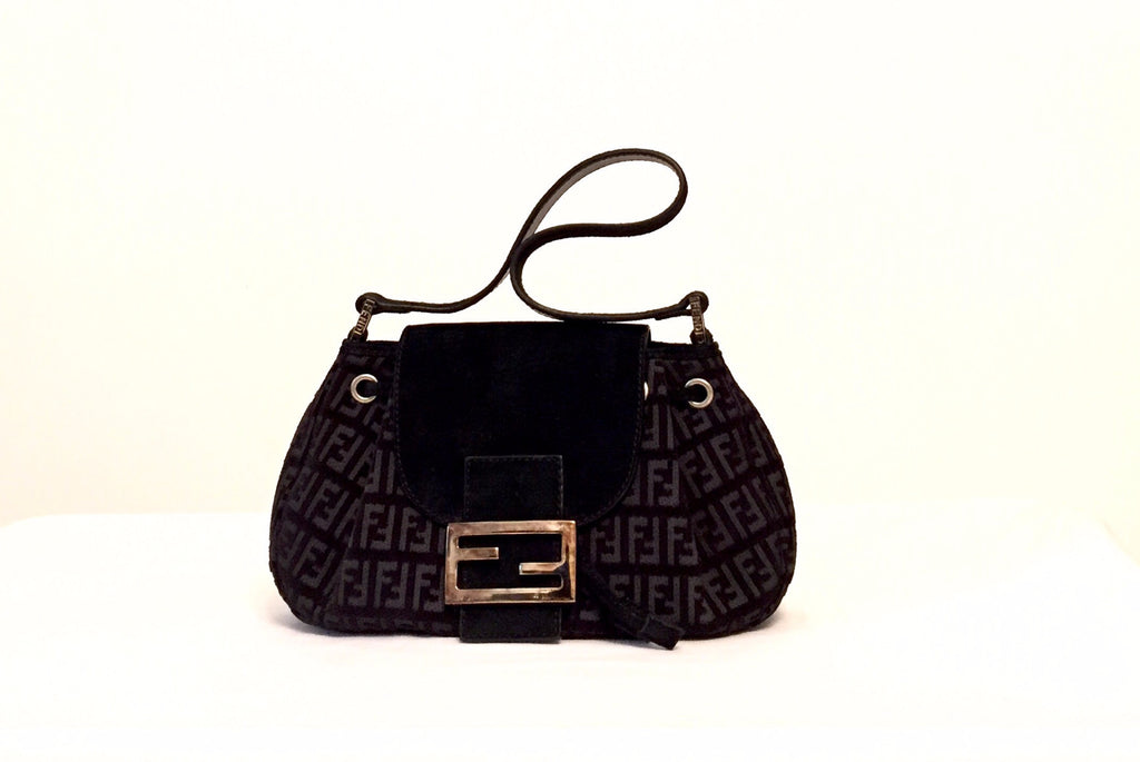 Fendi Black Baguette bag | Pre Loved | - Secret Stash