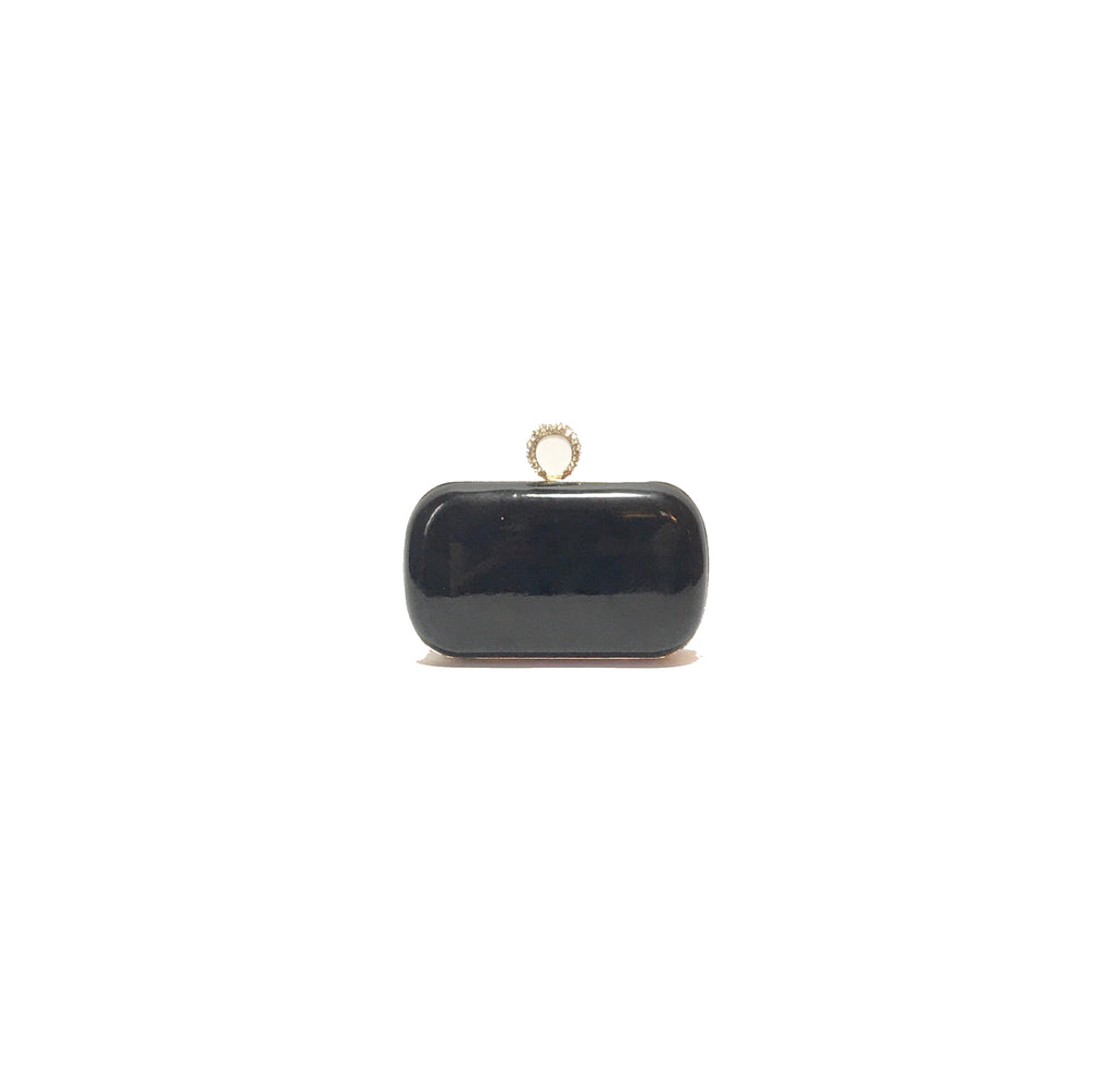Aldo Black 'Liberato' Ring Clutch | Pre Loved |