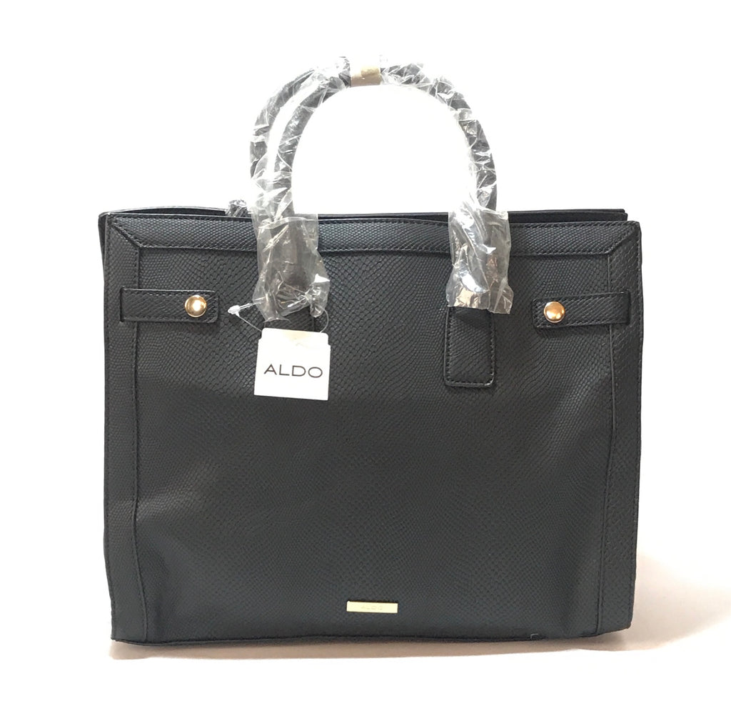 ALDO Black & White 'Lambrecht' Tote | Brand New | - Secret Stash