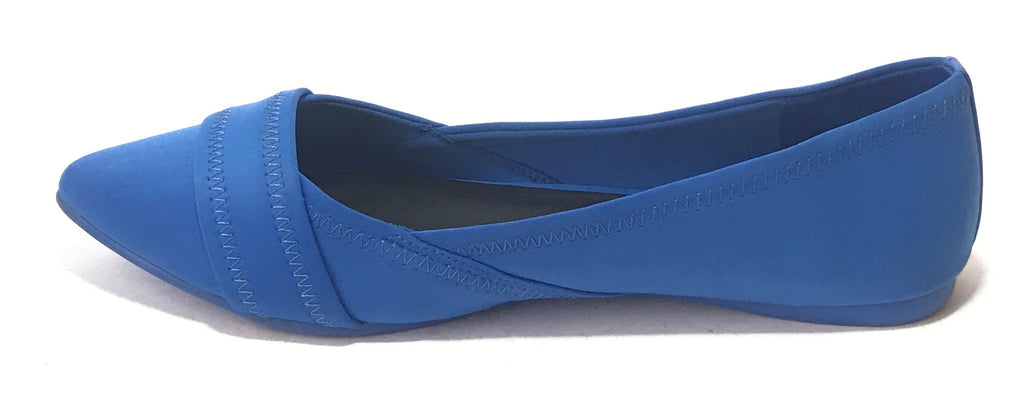 ALDO Pointed 'MAIDA' Cobalt Blue Flats | Pre Loved |