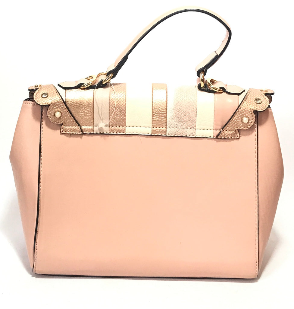 ALDO Blush Pink Pearl & Rhinestone Tote | Like New |