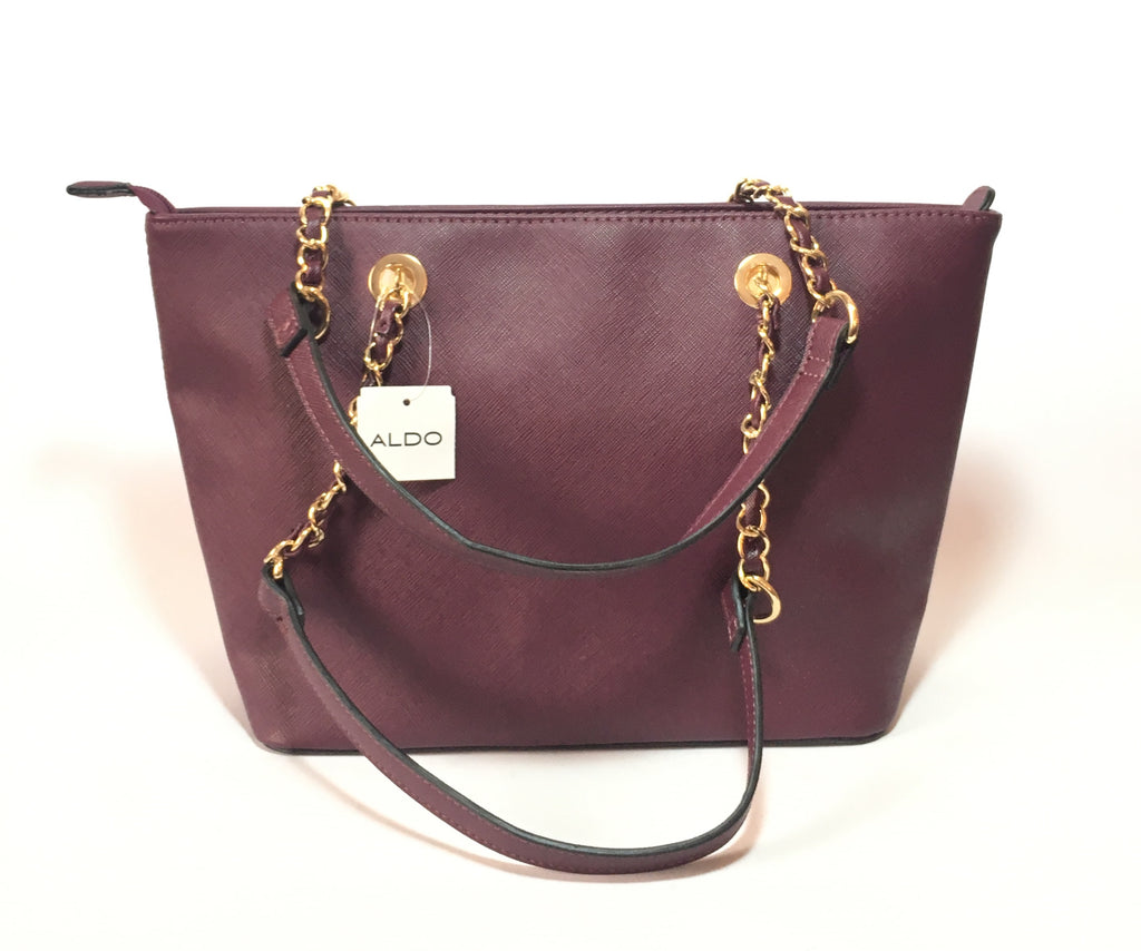 ALDO Purple 'Jambu' Tote | Brand New | - Secret Stash