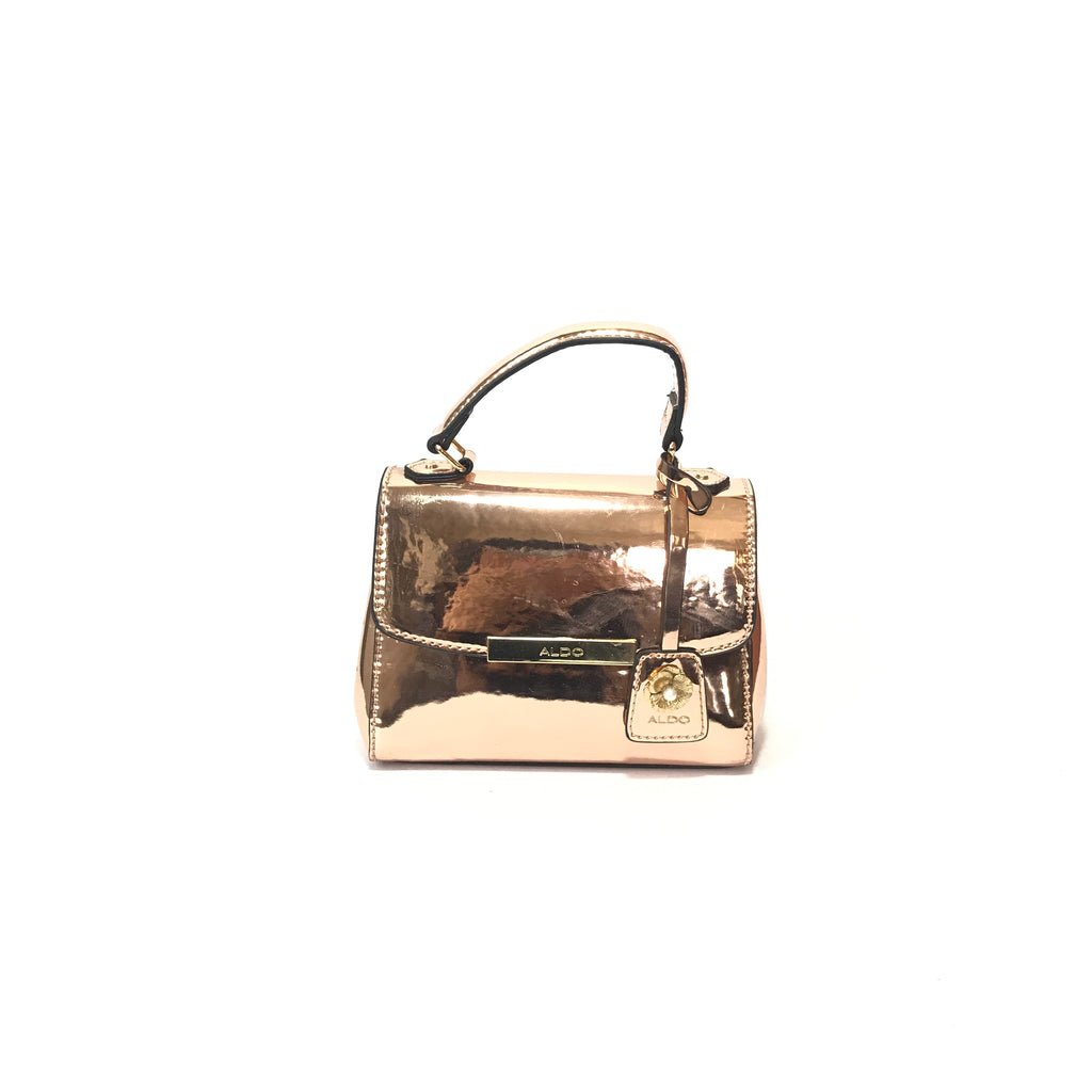 ALDO Rose Gold Mini Handbag | Like New |