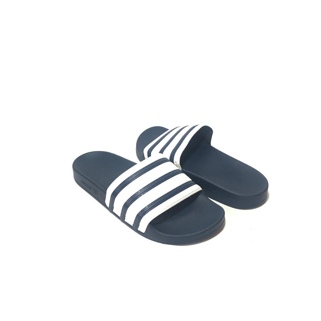 Adidas Blue 'Adilette' Slides | Brand New |