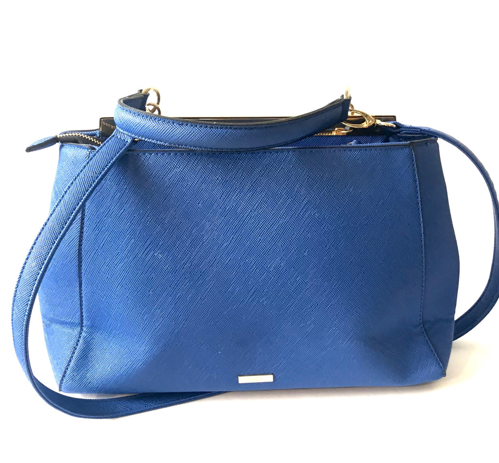 Aldo Shoes Cobalt Blue Handbag | Gently Used | - Secret Stash