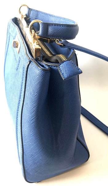 Aldo Shoes Cobalt Blue Handbag | Gently Used |