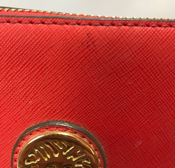 Anne Klein Red Tote Bag | Gently Used | - Secret Stash