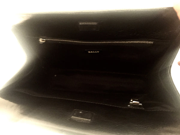 Bally Black Leather Bag | Gently Used | - Secret Stash