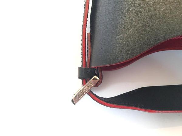 Bally Black Leather Shoulder Bag | Gently Used | - Secret Stash