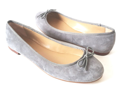 Banana Republic Grey Suede Ballet Flats | Brand New |
