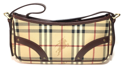 Burberry 'Haymarket' Check Shoulder Bag | Like New |