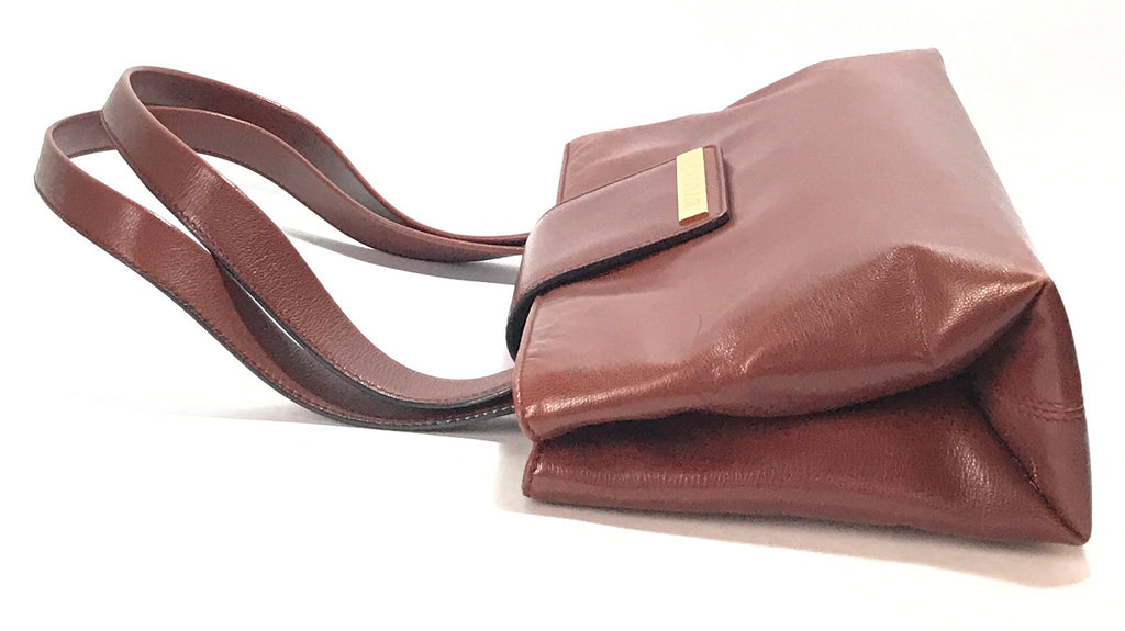 Bvlgari Brown Vintage Shoulder Bag | Gently Used |
