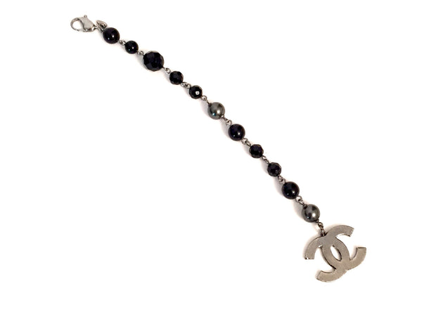 Chanel Black Pearl Bracelet | Gently Used | - Secret Stash
