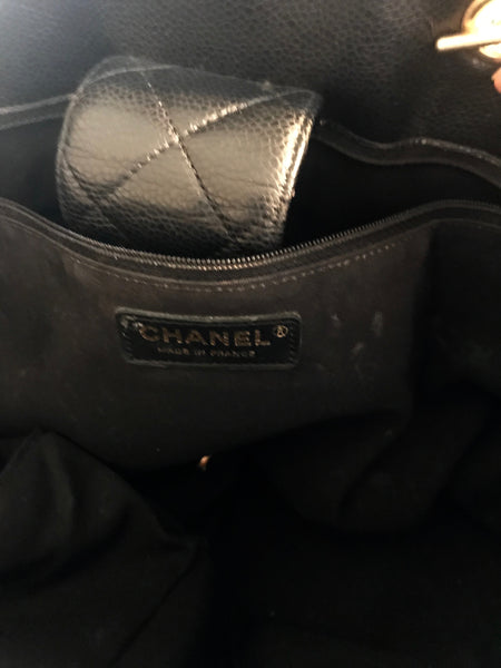 Chanel Large Classic Lambskin Tote Bag | Gently Used |