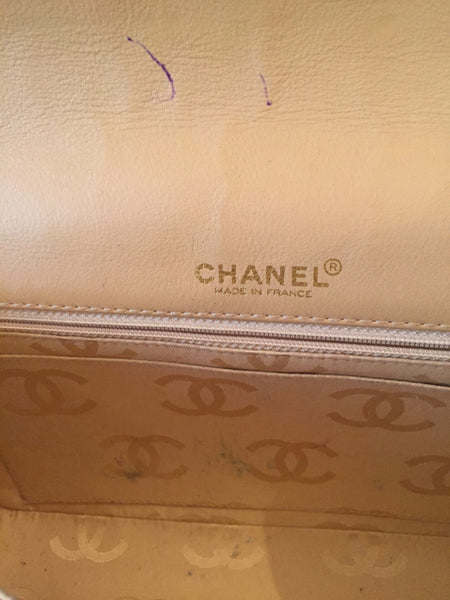 Chanel Vintage Medium Leather Quilted Classic Flap Bag | Pre Loved |
