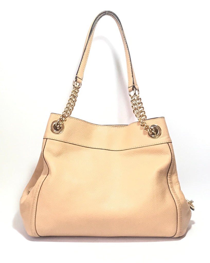Coach Beige Pebbled Leather Shoulder Bag | Gently Used | - Secret Stash