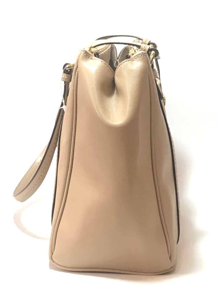 Coach Beige Leather Shoulder Bag | Like New | - Secret Stash