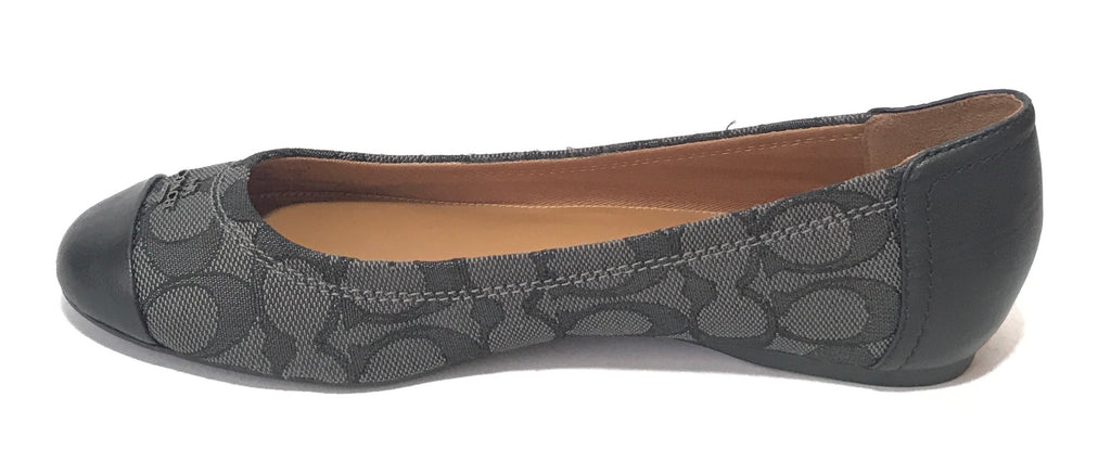 Coach Black Chelsea Ballet Flats | Gently Used |