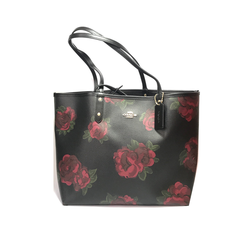 Coach Floral Jumbo Reversible Tote | Brand New |