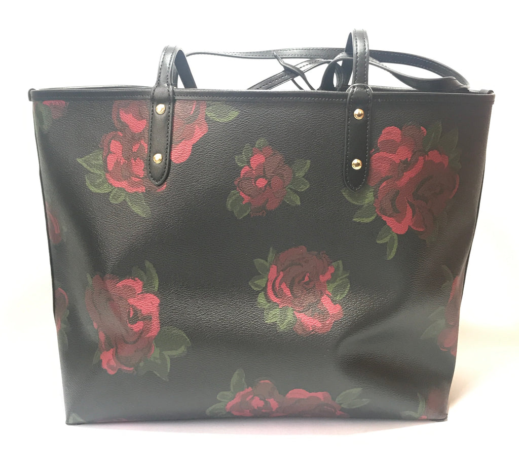 Coach Floral Jumbo Reversible Tote | Gently Used |