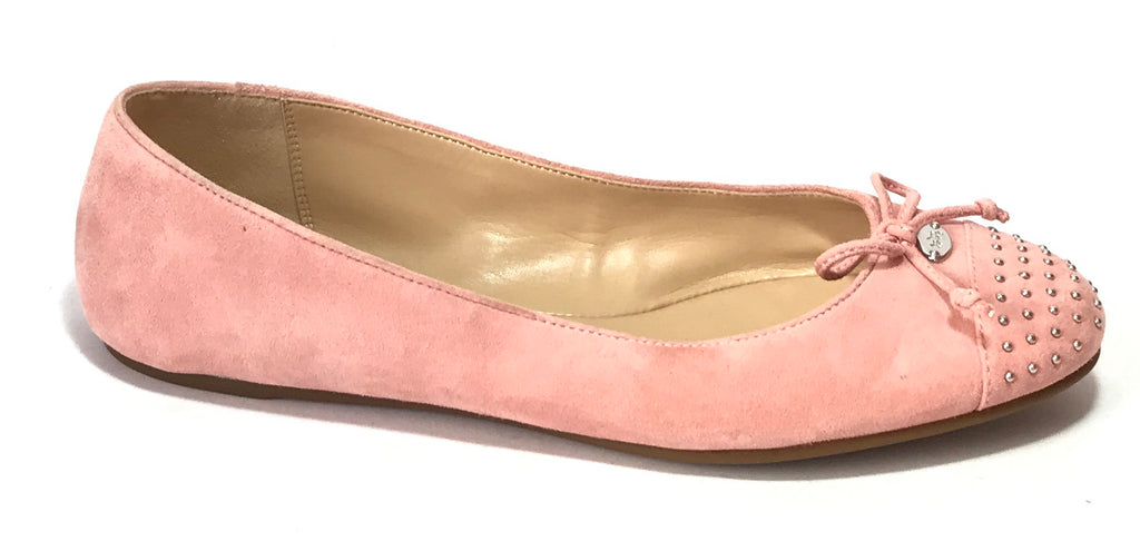Coach Pink Suede Ballet Flats | Brand New | - Secret Stash