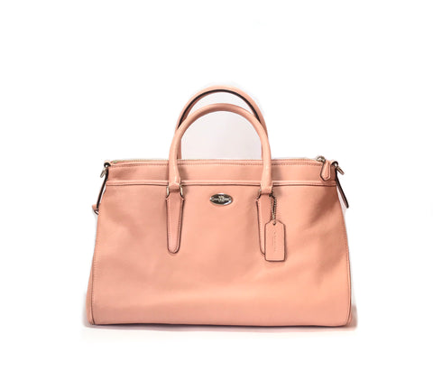 Coach Pale Pink Leather Bag | Gently Used |
