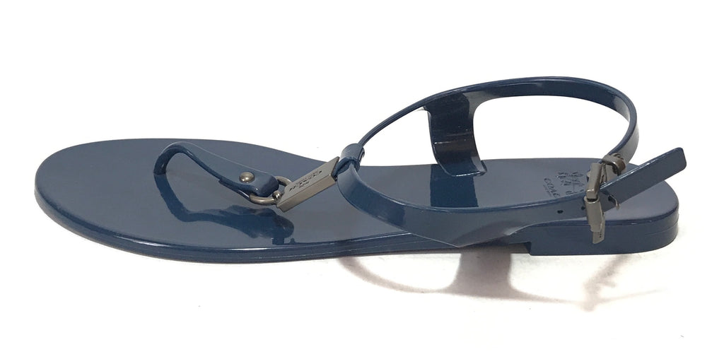 Coach Plato Jelly Thong Sandals | Like New |