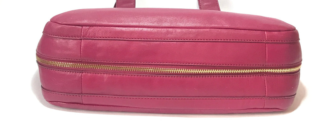 Cole Haan Deep Fuchsia Shoulder Bag | Pre Loved |