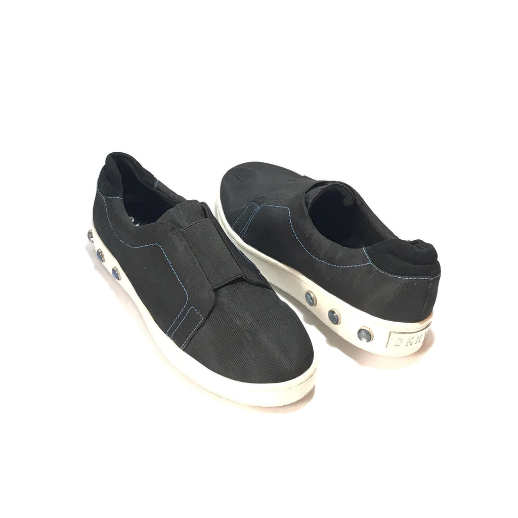DKNY Black Slip-on Sneakers | Like New | - Secret Stash