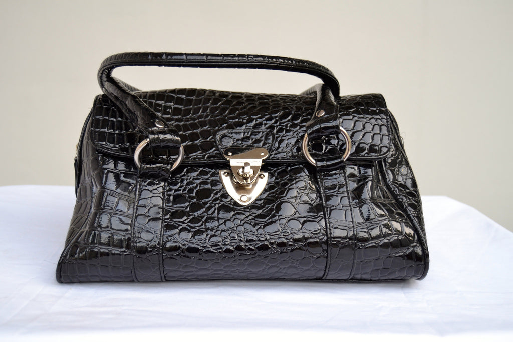 Jane Norman Black Bag | Gently Used | - Secret Stash