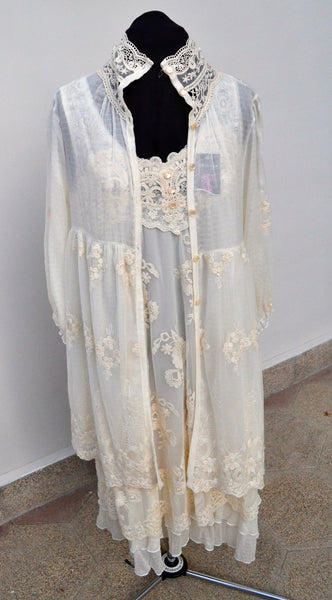 JSK London Vintage Style Lace Dress & Jacket | Brand New | - Secret Stash