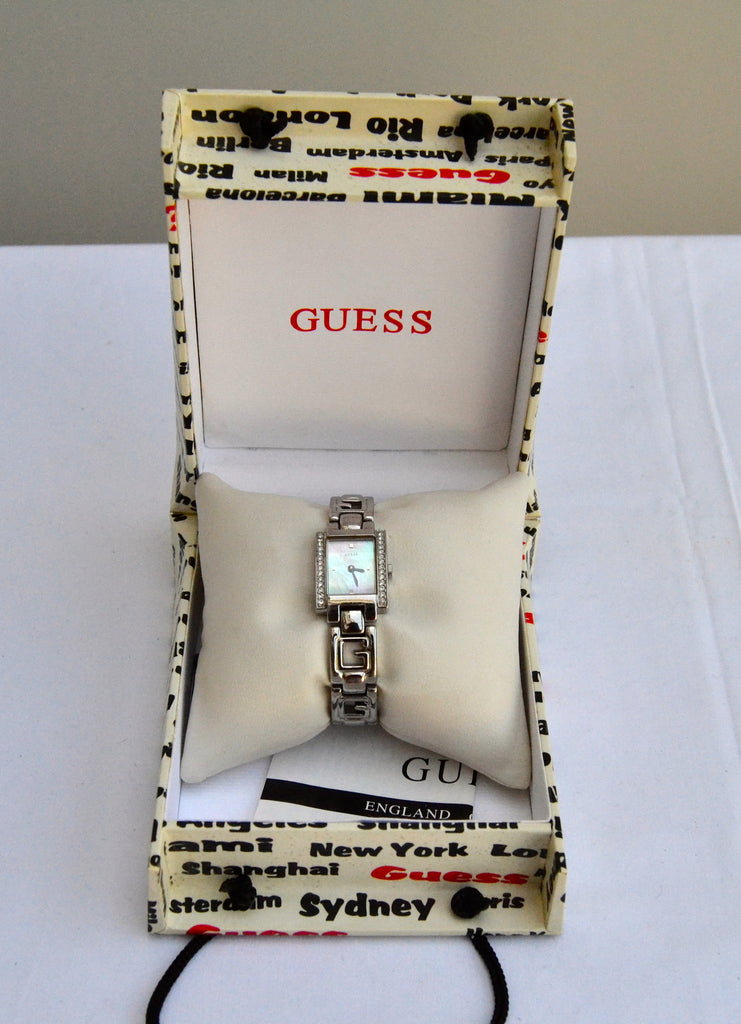 Guess Silver Stainless Steel Watch | Brand New | - Secret Stash
