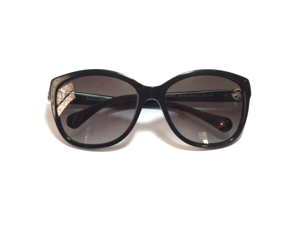 Dolce & Gabbana DG4162P Black Sunglasses | Pre Loved |