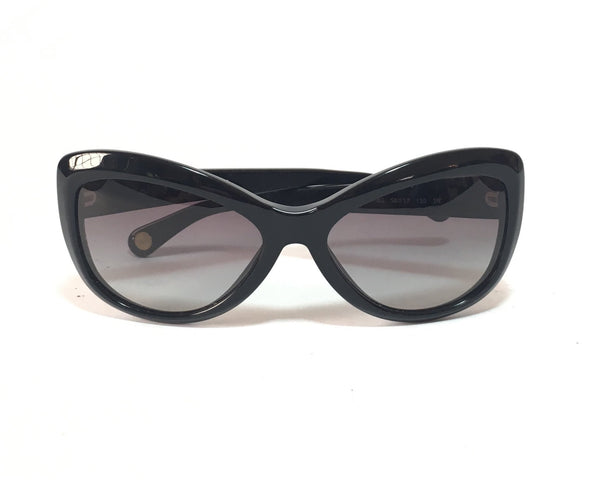 Dolce & Gabbana D&G3046 Cat Eye Black Sunglasses | Gently Used |