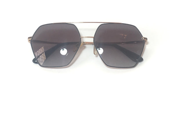 Dolce & Gabbana DG2157 Unisex Hexagon Aviator Sunglasses | Pre Loved |